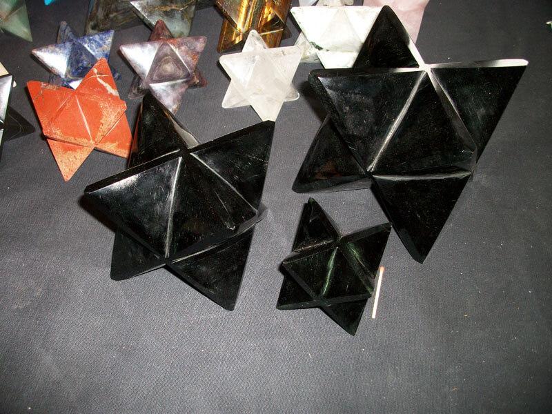 Merkaba Obsidienne