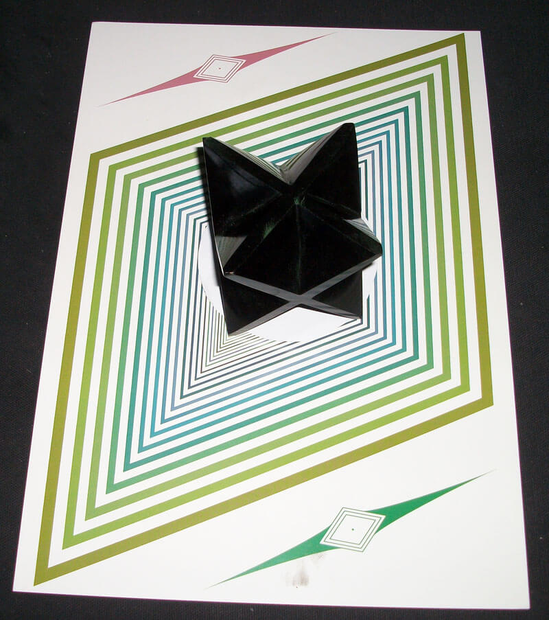 Radionique avec une Merkaba Obsidienne